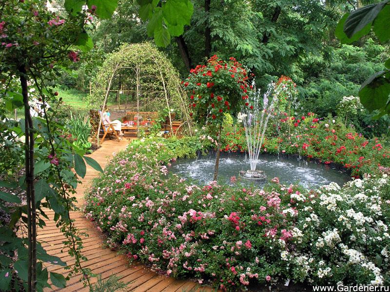 Фонтан своими руками в саду фото