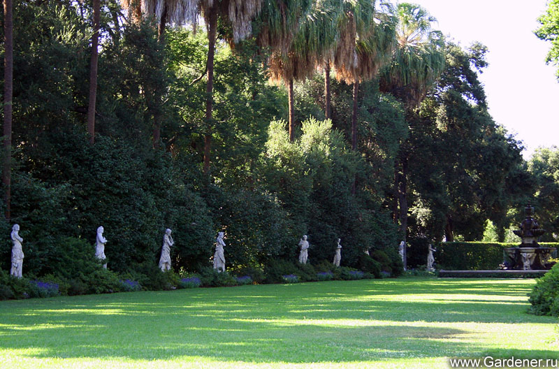 botanical gardens research paper on california
