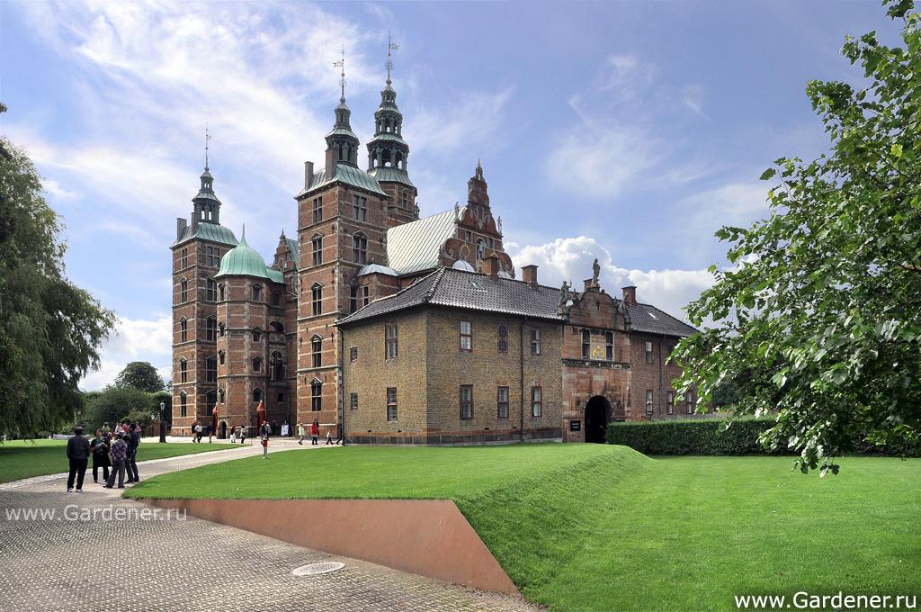 rosenborg slot parkering