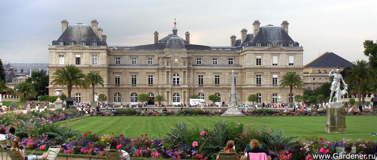 фото люксембургский сад в париже