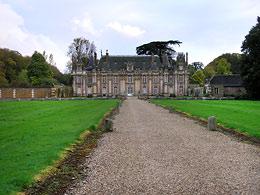 Chateau de Miromesnil / Сад замка Миромени