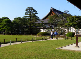 Nijo Castle gardens - Сады замка Нидзё