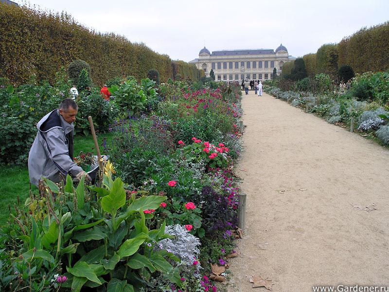Сад парижа франция парки и сады
