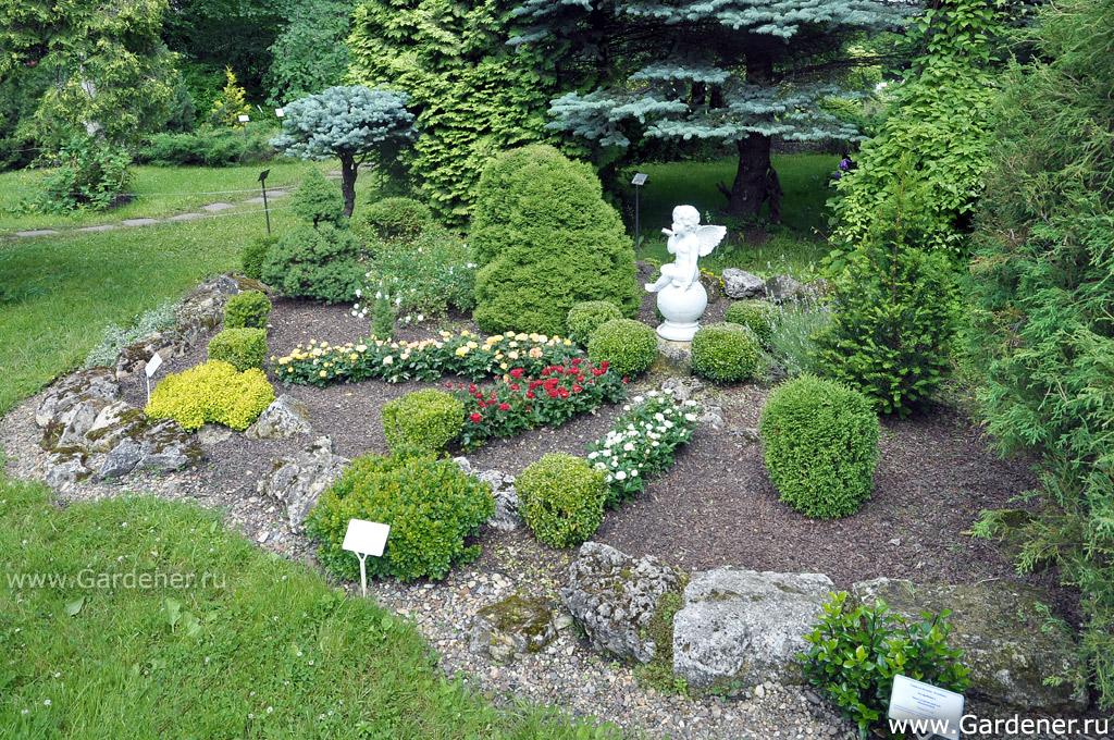 В 1973 г территория сада была передана
