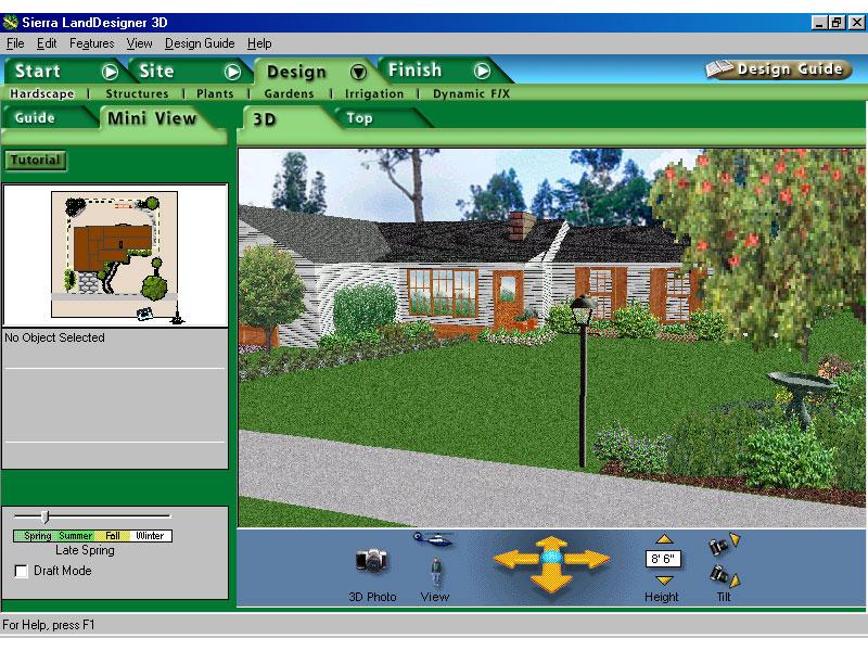 Программы ландшафтного дизайна 3d