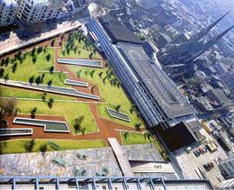 Дизайн парка в Сеуле
