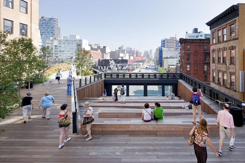 Ландшафтный дизайн городской среды