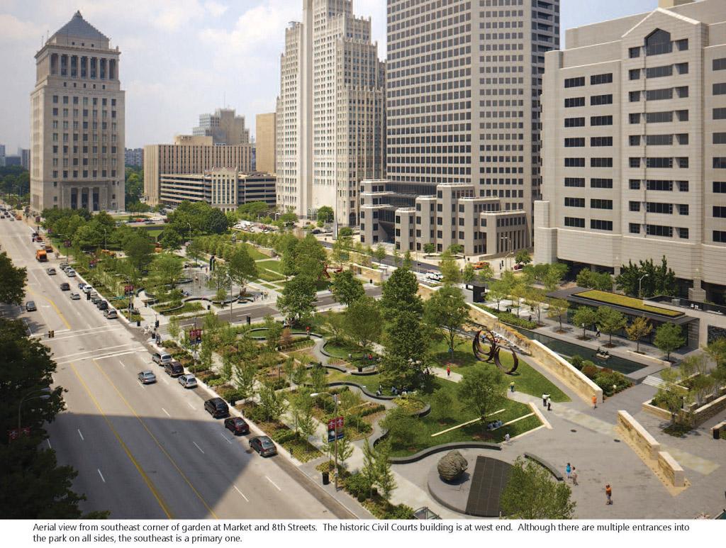 Городской ландшафтный дизайн